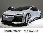 frankfurt  germany   sep 13 ... | Shutterstock . vector #715167019