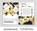 abstract vector layout... | Shutterstock .eps vector #715187431