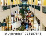 lisbon  portugal   august 09 ... | Shutterstock . vector #715187545