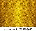 metal texture background... | Shutterstock . vector #715202455