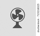 fan vector icon eps 10.... | Shutterstock .eps vector #715218325