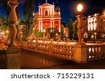 slovenia. ljubljana. beautiful... | Shutterstock . vector #715229131