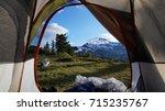 north cascades  washington state | Shutterstock . vector #715235767