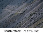 the path through the dolomites  | Shutterstock . vector #715243759