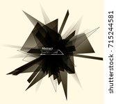 big data visualization. fractal ...   Shutterstock .eps vector #715244581