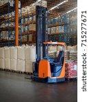 reach trucks for perfect load...   Shutterstock . vector #715277671