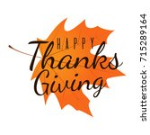 thanksgiving day background... | Shutterstock .eps vector #715289164