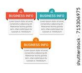 business infographic diagram | Shutterstock .eps vector #715306975