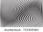 optical art abstract background ... | Shutterstock . vector #715309381