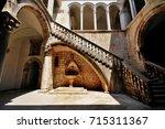 rector's palace  knezev dvor  ... | Shutterstock . vector #715311367