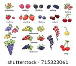 set of vector illustration of... | Shutterstock .eps vector #715323061