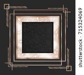 vector marble pattern. luxury... | Shutterstock .eps vector #715324069