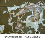 old painted plastered wall with ... | Shutterstock . vector #715328659
