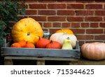 Fresh Pumpkins And Squashes...