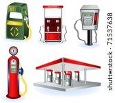 fuel station images | Shutterstock .eps vector #71537638
