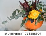 Autumn Floral Bouquet In A...