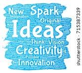 conceptual creative idea... | Shutterstock . vector #715387339