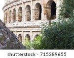 colosseum | Shutterstock . vector #715389655