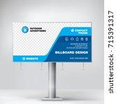 billboard design  graphic... | Shutterstock .eps vector #715391317