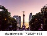 mexico city  mexico   circa... | Shutterstock . vector #715394695