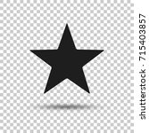 black star icon. isolated...