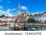 september 2017. cork  ireland....   Shutterstock . vector #715414795