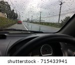 view from the car. | Shutterstock . vector #715433941