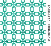 net of chain in turquoise...   Shutterstock .eps vector #715445905