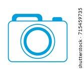photographic camera icon  | Shutterstock .eps vector #715459735