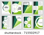 abstract vector layout... | Shutterstock .eps vector #715502917