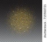 gold glitter bright  ...   Shutterstock . vector #715503721