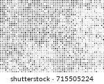 halftone grunge black white.... | Shutterstock .eps vector #715505224
