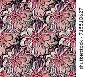 seamless background. flowers.... | Shutterstock . vector #715510627