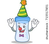 Clown Baby Bottle Character...