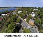jurmala city centre  latvia. | Shutterstock . vector #715533331