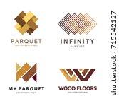 vector abstract logo template.... | Shutterstock .eps vector #715542127