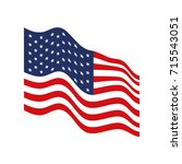 flag united states of america...   Shutterstock .eps vector #715543051