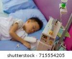 children's patient in the... | Shutterstock . vector #715554205