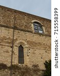 Small photo of Italy, Florence - December 24 2016: the view of the wall of Florence Charterhouse church, Carthusian monastery, Certosa del Galluzzo di Firenze on December 24 2016 in Florence, Tuscany, Italy.