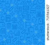 business and finance seamless... | Shutterstock .eps vector #715561327