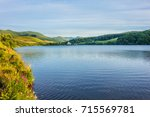 view of lake guery. lake guery... | Shutterstock . vector #715569781