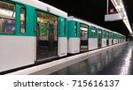 paris metro | Shutterstock . vector #715616137