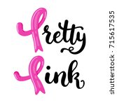 vector illustration of pink... | Shutterstock .eps vector #715617535