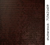 abstract grunge perforated... | Shutterstock . vector #715621609