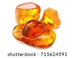 Few Pieces Of Amber With...