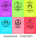 Set Of Colorful Posters For...