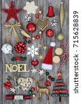 Christmas Gold Noel Sign With...