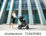 mother and business woman...   Shutterstock . vector #715635481