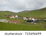 mykines island  faroe island | Shutterstock . vector #715696699