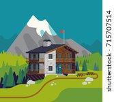 high quality flat design vector ...   Shutterstock .eps vector #715707514